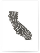 State Stamp Save the Date Cards