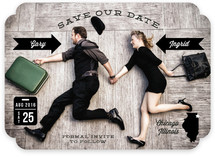 Wedding Stats Save the Date Cards