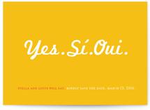 Yes Si Oui by Ana Gonzalez