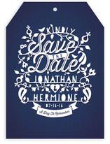Intricate Paper Cut Save the Date Cards