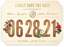 Derby Save The Date Cards