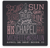 Going to the Chapel Save The Date Cards
