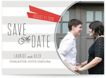 Simply Tabbed Save The Date Cards