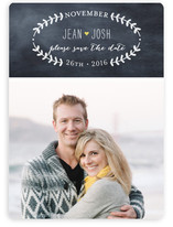 Oval Love Save The Date Cards