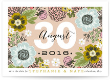 Cottage Garden Save the Date Cards
