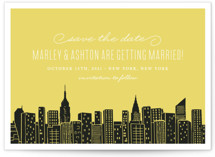 Big City - New York Save The Date Cards