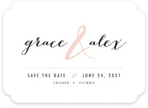 All that Sparkles Save The Date Cards