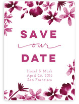Classic Black Save The Date Cards