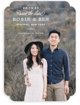 Timeless Save the Date Cards