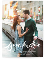 Hand-Lettered Save The Date Cards