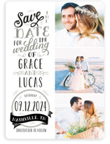 Serendipitous Save The Date Cards