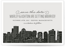 Big City - Boston Save The Date Cards