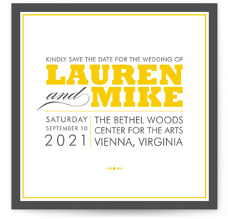 Cocktail Hour Save the Date Cards