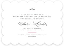 Charming Go Lightly Save The Date Cards