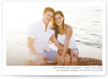 Vintage Photograph Save The Date Cards