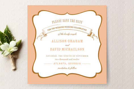 Le Fete Save The Date Cards