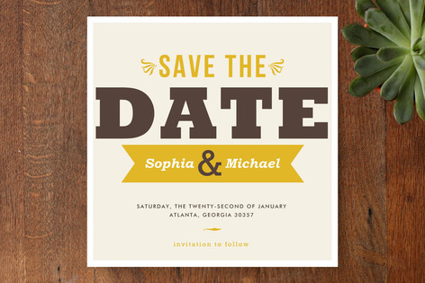 Don't Forget Save The Date Cards