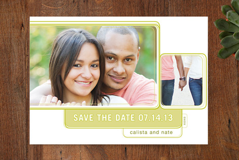 Modern Delight Save The Date Cards