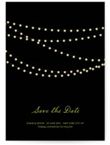Midnight Vineyard Save The Date Cards