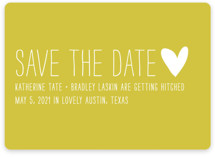 Passing Notes Save the Date Cards
