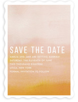 Ombre Save the Date Cards