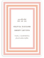 Float + Sweetie Stripe Save the Date Cards