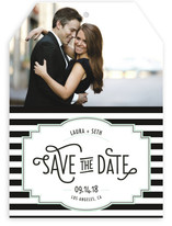 Ascot Chic Save the Date Cards