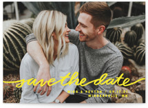 Stringed Save The Date Cards