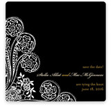 Spanish Lace Save The Date Cards