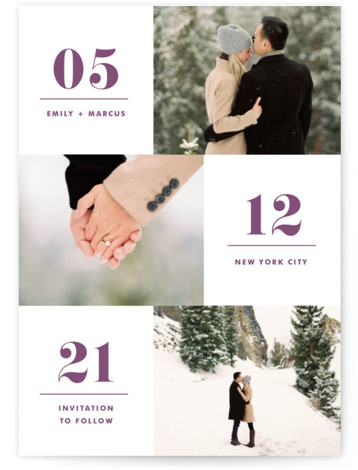 Love Series Save The Date Cards