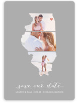 Illinois Love Location Save The Date Cards