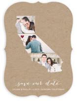 California Love Location Save The Date Cards