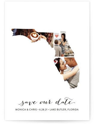 Florida Love Location Save the Date Cards