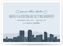 Big City- Denver Save The Date Cards