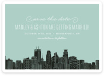 Big City- Minneapolis Save the Date Cards