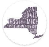 State Stamp- New York