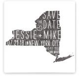 State Stamp - New York