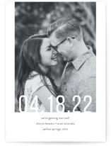 Date Check Save The Date Cards