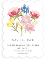 Floral Bouquet Save The Date Cards
