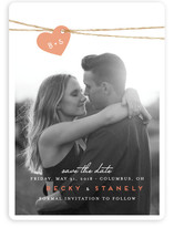 Intertwined Save the Date Cards