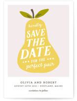 The Perfect Pair Save the Date Cards