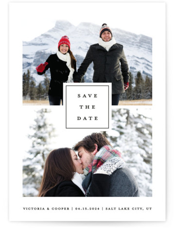 All In Save The Date Cards
