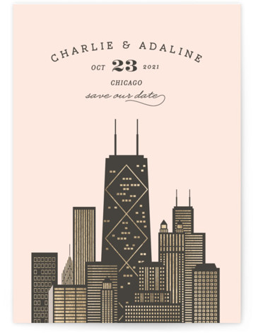 Amalfi - Chicago Save The Date Cards
