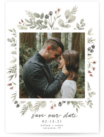 Lovely Bloom Save The Date Cards