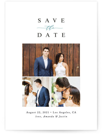 Fine Love Save The Date Cards