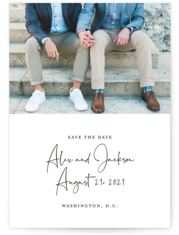 Love Letter Save The Date Cards