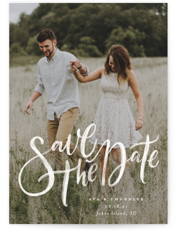 Summertime Love Save The Date Cards