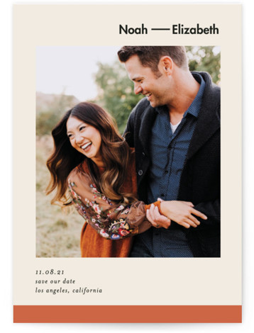 Heritage Save The Date Cards