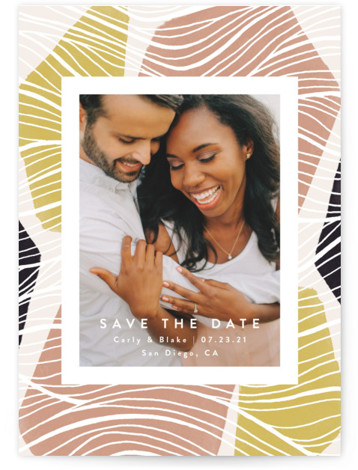 Tropical Save The Date Cards