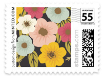 Plentiful Blossoms Wedding Stamps